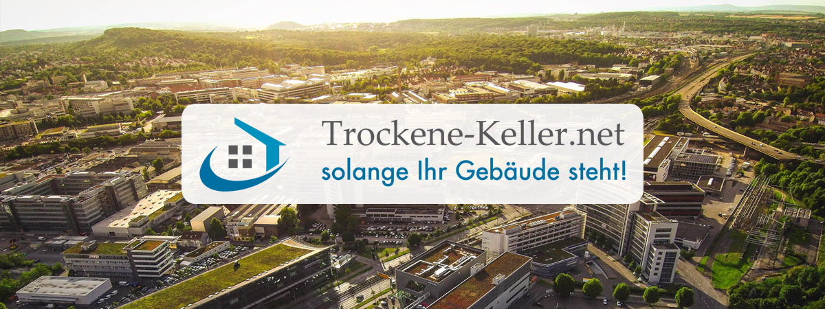 Abdichtungen Metzingen - Trockene-Keller.net drückendes Wasser