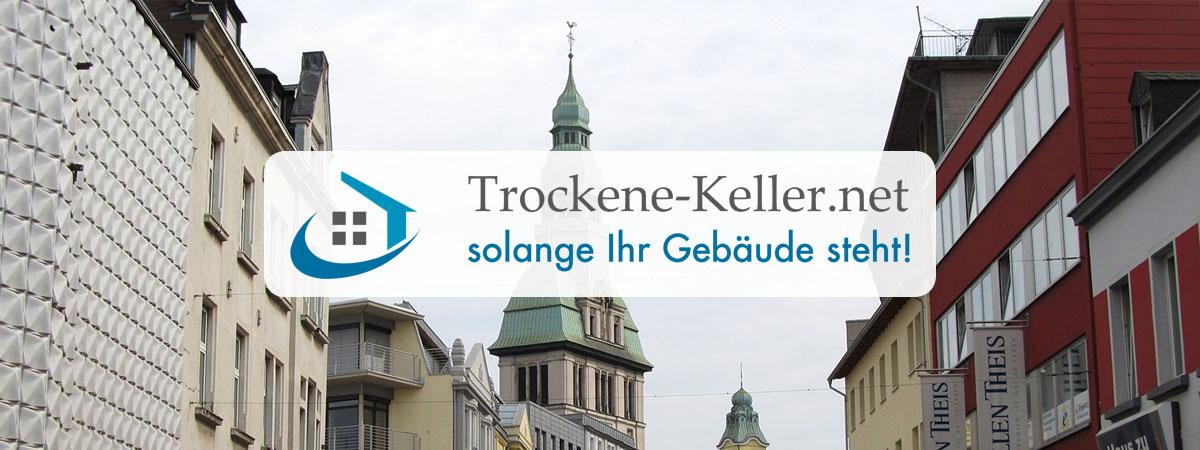 Abdichtungen Eningen (Achalm) - Trockene-Keller.net Keller abdichten / trockenlegen